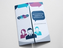 Sales / conference leaflet
